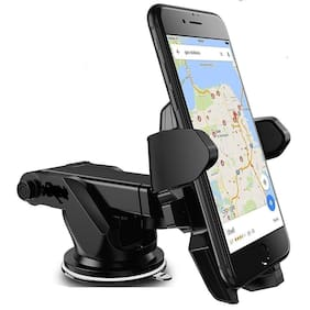 Fokatkart Silicone Sucker Multi Surface Uinversal Car Mount/ Car Mobile Holder 360° Rotation with Ultimate Reusable Suction Cup for Car Dashboard/Car Windshield/Table
