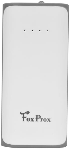 FoxProx Power Bank FX 52H 5200mAh Lithium Ion Battery   White