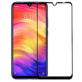Fully Covered All Angle Protection With Curved Edges 0.25MM Nano Series Premium 5D Tempered Glass Guard[Pack Of 1]For Redmi Note 7 Pro