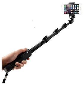 G GAPFILL H8 Selfie Stick with Bluetooth Remote;Extendable Up to 113.5 cm;Black