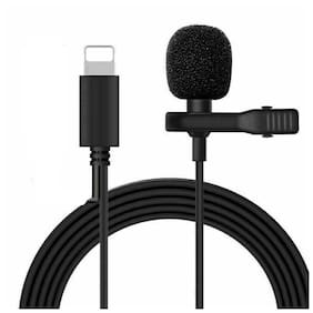 GadgetX 8 Pin lavalier microphone superb sound for audio and video recording