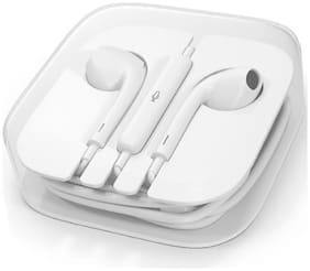 GadgetX IPHNW-1212 In-Ear Wired Headphone ( White )