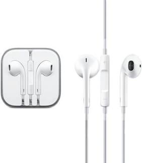 GadgetX In-Ear Wired Headphone ( White )