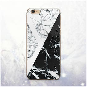 Geometry Marble Silicone iPhone XS Max Case Cover iPhone 5 6 6s 7 8 Plus X XS XR