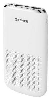 Gionee 1000MAH 10000 mAh Slim Power Bank - White
