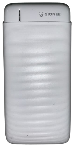 Gionee PB20K2D 20000 mAh Power Bank   White by India Mobiles