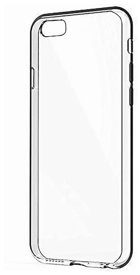 Gionee M5 Lite Transparent Silicon Back Cover by MJR