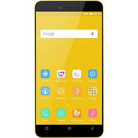 Gionee Pioneer P5L 16 GB (Yellow)