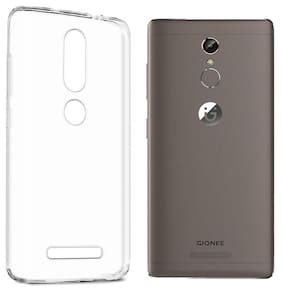 Gionee S6S Transparent Silicon Back Cover Back Case