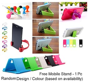 Go Hooked Printed Soft Silicone Mobile Back Cover for Panasonic Eluga Ray Max (Assorted Design
