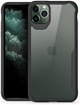 Apple iPhone 12 Pro Max Plastic Back Cover By Gohaps ( Transparent )