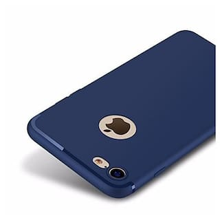 Gohaps Gel Back Cover For Apple iPhone 7 ( Blue )