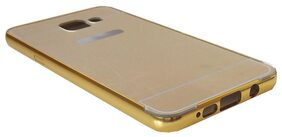 Gold Mirror Finish Hard Back Cover for A510 Phone
