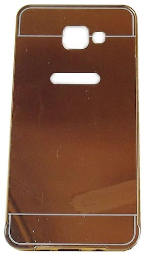 Gold Mirror Finish Hard Back Cover for A710 Phone