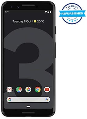 Google Pixel 3XL 4 GB 64 GB Just Black (Refurbished : Excellent)