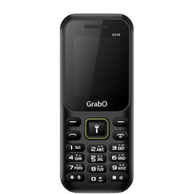 Grabo G310, 1.8 inch Display with vibration features phone  (BLACK)