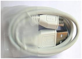 Grostar Data Cable For All SmartPhones (White)