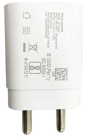 Grostar Wall Charger With Data Cable For Vivo