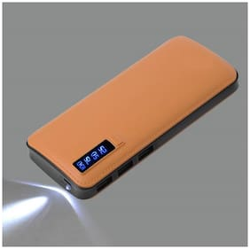 HAMINE 13000 mAh Power Bank - Brown
