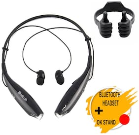 HBS730 Bluetooth Wireless Headset and OK mobile stand