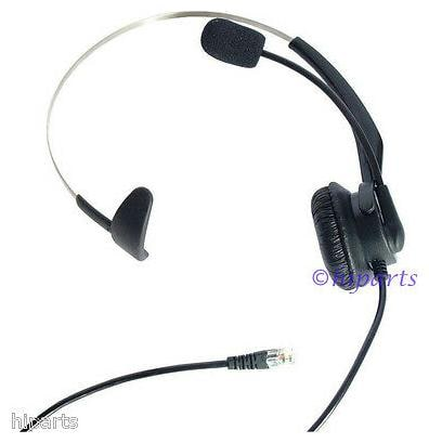 K138 Corded Headset for Toshiba Polycom Aastra Alcatel-Lucent ESI Avaya Nortel