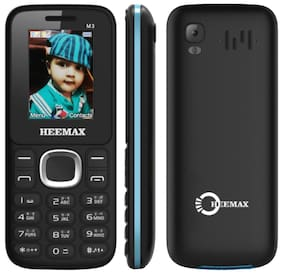 Heemax M3 Dual Sim Feature Phone-Black Blue