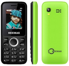Heemax M4 Fm Radio Feature Phone- Green