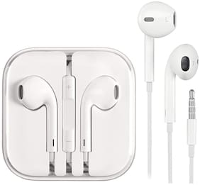 Fast Delight Iphone 7,7plus,8,8 plus,x also work with iphone 6,5s In-ear Wired Headphone ( White )
