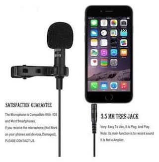 HIGH QUALITY  Caller Audio Microphone 3.5mm Jack Plug Mic Stereo Mini Lapel Collar MIC Wired External Clip Micro