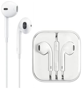 Casvo Apple earphone In-ear Wired Headphone ( White )