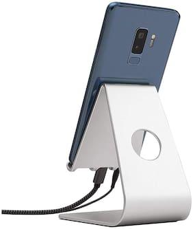 Hiker Mobile Desktop Holder (Silver)