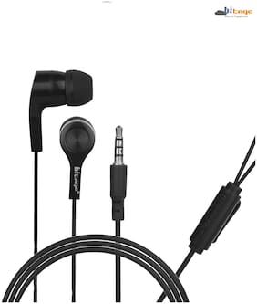 HITAGE Hp68pbl In-ear Wired Headphone ( Black )