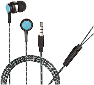 HITAGE HB913SB In-Ear Wired Headphone ( Navy blue )