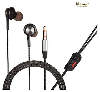 HITAGE HB9413BL In-Ear Wired Headphone ( Black )
