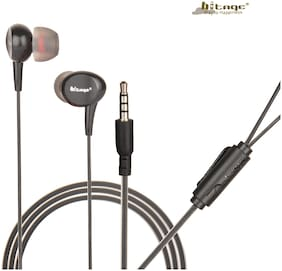 HITAGE HB131BL In-Ear Wired Headphone ( Black )