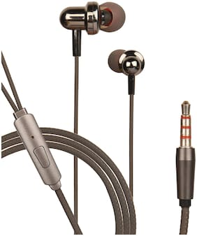 HITAGE HB91BK In-Ear Wired Headphone ( Black )