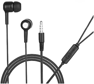 HITAGE Music Extra Bass HP276BL In-Ear Wired Headphone ( Black )