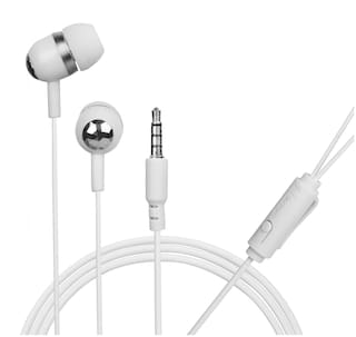 HITAGE Youth Series HD Clear Sound In-Ear Wired Headphone ( White )