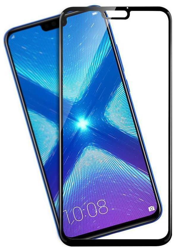 Honor 8X Full Tempered Glass 6D, Ultra Clear, Zero Bubbles, Sensitive  Touch,9H Hardness, Anti-Scratch, Anti Oil Stains, Anti-Fingerprint Test and