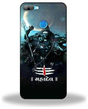 Honor 9N  /  Honor 9N  Back Cover  /   Om Shiva Mahadev  Hard Back Cover By Printastic