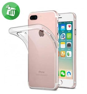 Hoteon Back Cover For Apple iPhone 8 Plus (Transparent)