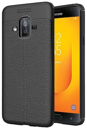 Hoteon Back Cover For Samsung Galaxy J7 Duo (Black)