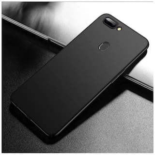Hoteon Back Cover For Oppo F9 Pro (Black)