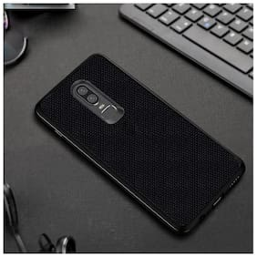 Hoteon Back Cover For OnePlus 6T (Black)