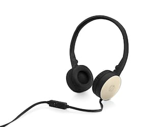d8ad460622b Buy HP H2800 Stereo Foldable Headset with Mic (Gold)(2AP94AA) Online ...
