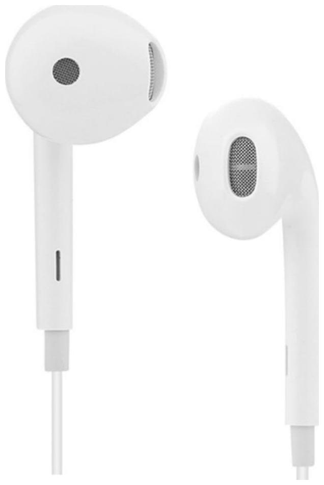 HSJ Stereo Audio Oppo F7,A1,A71,F5,F3+,A57 Ear Buds Wired Earphones With Mic