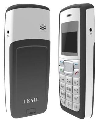 I Kall Black 3.65 cm (1.44 Inch) K72 Feature Phone