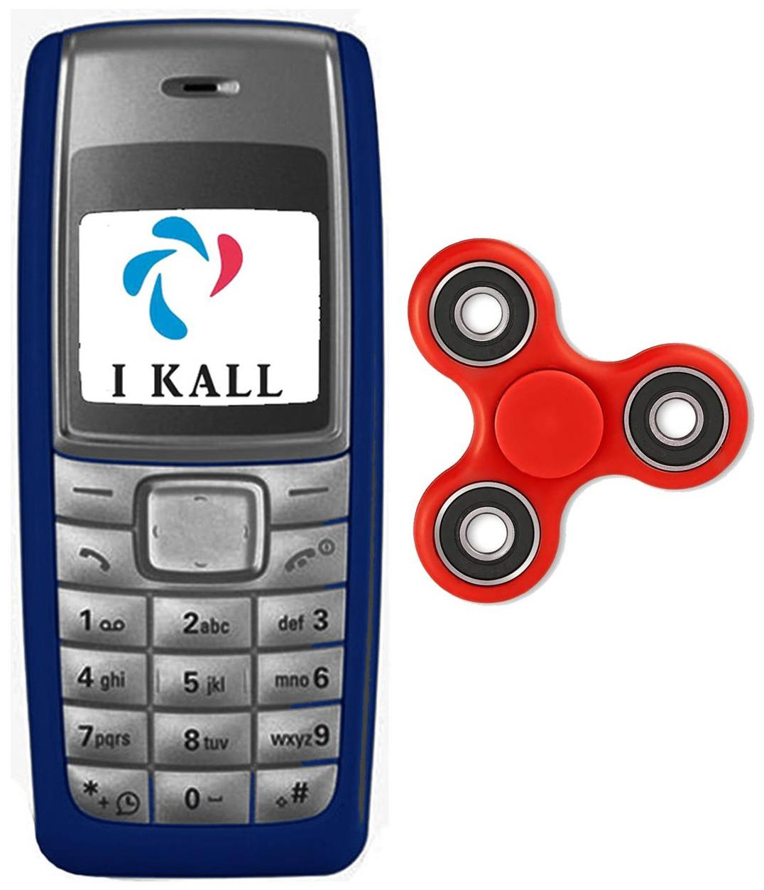 I Kall Blue 3.65 cm (1.44 Inch) K72 with Spinner