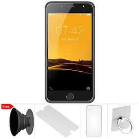 I Kall K1 Silver 4G Android Mobile Smartphone Free accessories