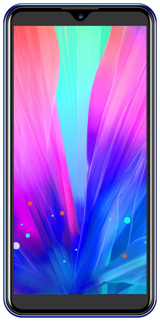 I KALL K10 4 GB 32 GB Sapphire Blue